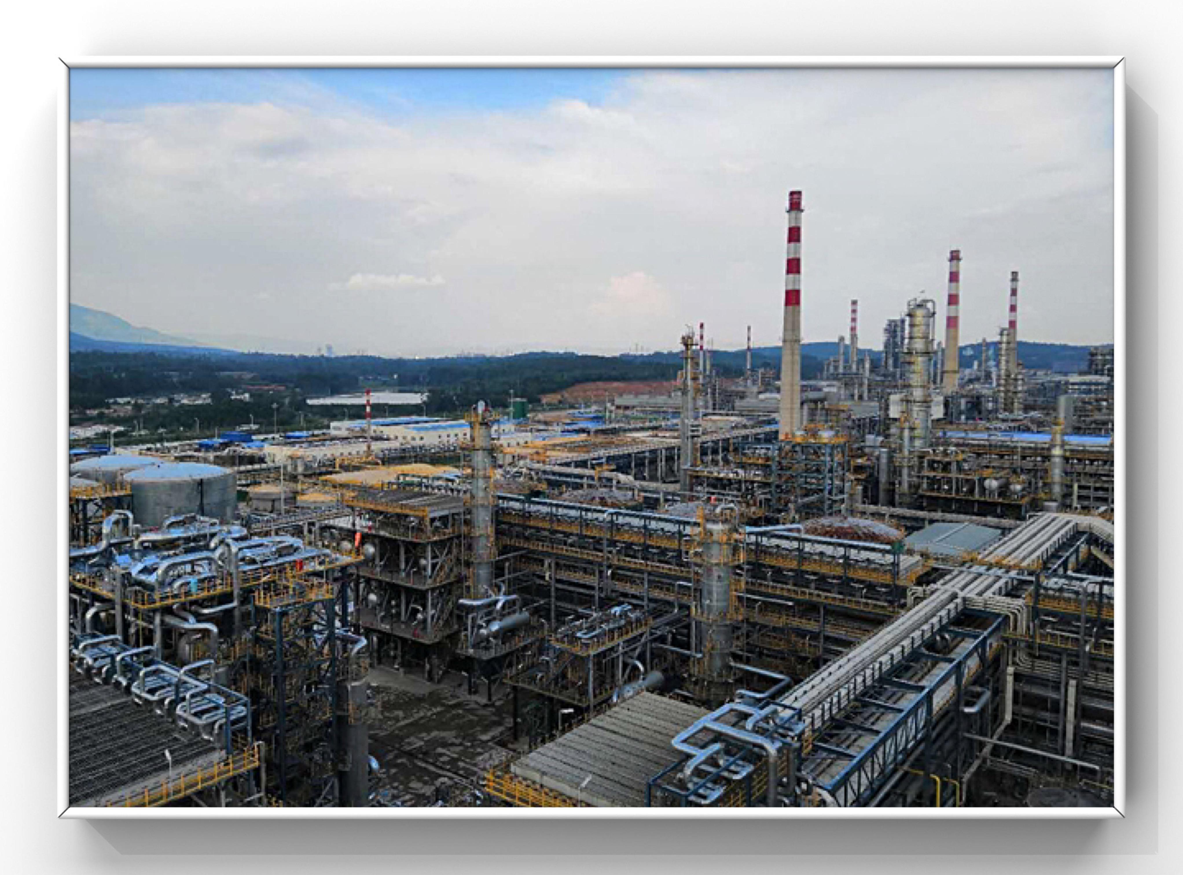 中国石油监测现场